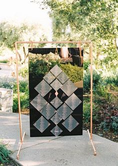An Unfinished Arbor Endless Rolling Hills and the Sweetest Couple Ever - YES Please! An Unfinished Arbor Endless Rolling Hills and the Sweetest Couple Ever - YES Please! Wedding Seating Cards, Reception Seating Chart, Wedding Reception Seating, Wedding Ceremony Decorations, Wedding Signage, Seating Charts, Wedding Design Inspiration, Vintage Wedding Theme, Boho Wedding