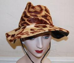 Awesome I Magnin Late 60s Faux Fur Leopard Print by LolaAndBlack, $74.50