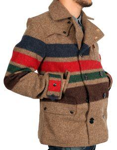 Monitaly Riders Coat. Mens Outerwear.