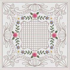 DaisyRose Quilt blocks 8x8