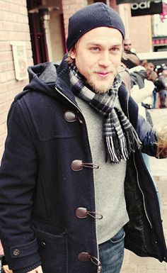 Charlie Hunnam- i've already pinned this one, but I don't care.