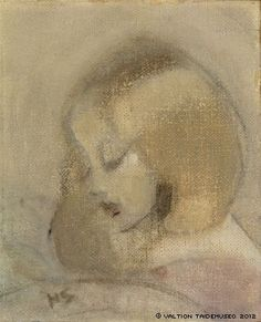 Annuli Reading, 1923 ,by Helene Schjerfbeck Helene Schjerfbeck, Art And Illustration, Illustrations, Art Database, Art Plastique, Painting Inspiration, Painting & Drawing, Oil On Canvas, Photo Art