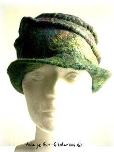 felt hat  | made in 2011 | Aukje Bor-Stokroos