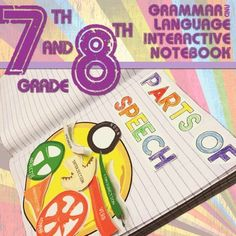 Explore grammar in a new way. This interactive notebook covers  language standards for seventh and eighth grades, but will work or older students too. Interactive, foldable, and fun pieces for studying active/ passive voice, types of sentences, parts of speech, parts of a sentence, and so much more.