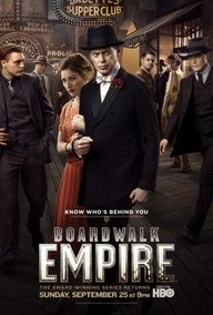 Boardwalk Empire is an excellent HBO series. It portrays the time of prohibition very precisely. Each element of mise-en-scene adds to said portrayal. The series has even taught me a history lesson or two.