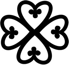 African Symbol For Love Of god' the adinkra symbol