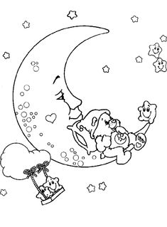 care bears coloring pages to print | Free coloring pages to print or color online