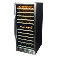 NewAir Premier Gold AWR-1160DB 116 Bottle Built-In Compressor Wine Cooler - AWR-1160DB