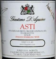 Gaetano D Aquino Asti from Trader Joe's
