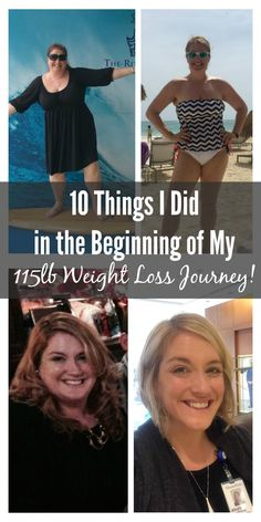 10 Things I Did in the Beginning of My 115lb Weight Loss Journey