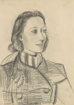 Pablo Picasso - Portrait of Nusch Éluard, May 1941