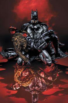 Batman and robin/red hood Jason Todd