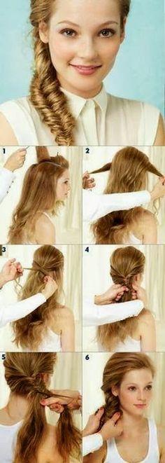 DIY   Easy Summer Hairstyle Tutorial