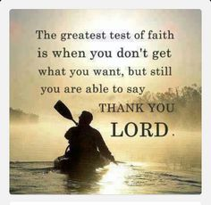 EVEN IF.... Faith is the confidence that what we hope for will actually happen; it gives us assurance about things we cannot see (Hebrews 11:1).