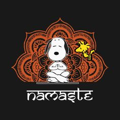 Check out this awesome Snoopy+Peanuts+Dog+Yoga+Funny+Namaste design on TeePublic. - Check out this awesome Snoopy+Peanuts+Dog+Yoga+Funny+Namaste design on TeePublic! Yoga Logo, Totoro, Snoopy Images, Snoopy Comics, Snoopy Wallpaper, Snoopy Quotes, Joe Cool, Memorial Tattoos, Yoga Art
