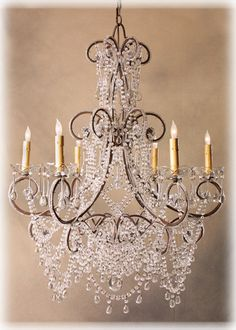 Have always loved to have an awesome Crystal Chandelier.