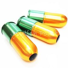 Airsoft #wargame gear army #force 3pcs paintball 40mm gas grenade #cartridge long,  View more on the LINK: http://www.zeppy.io/product/gb/2/111886339922/
