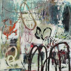 Su Sheedy - encaustic LOVE her work Abstract Expressionism, Abstract Art, Abstract Paintings, Encaustic Art, Paintings I Love, Whimsical Art, Cute Drawings, Painting & Drawing, Illustration Art