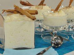 Recetas   Arroz con leche   Utilisima.com No Bake Desserts, Mexican Food Recipes, Glass Of Milk, Mexico, Pudding, Cupcakes, Treats, Baking, Sun