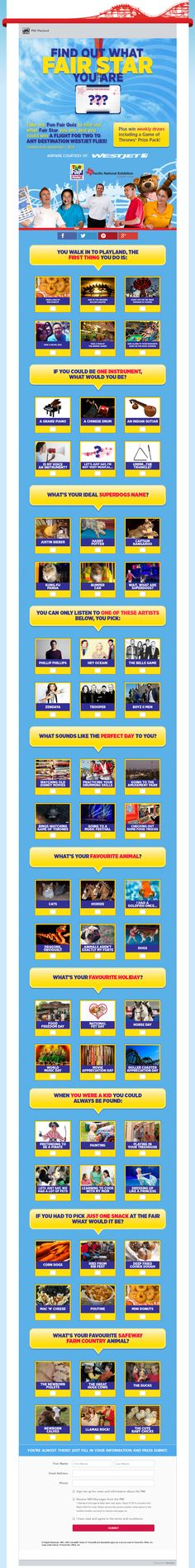 Example Quiz Page