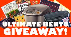 4/7. Ultimate Bento Giveaway ($300 Value)