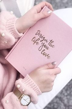 """Campina """"Mesh"""" - Campina """"Mesh"""" - Knitting , lace processing is one of the most beautiful hobbies that girls will no. Notebook Design, Diy Notebook, Pink Love, Pretty In Pink, Tout Rose, Everything Pink, Book Aesthetic, Pink Christmas, Christmas Gifts"""