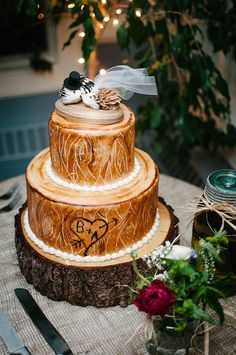 Hedgehog cake topperPorcupine wedding cake by MorganTheCreator, $36.00