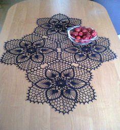 Home Decor Crochet Patterns Part 7 - Beautiful Crochet Patterns and Knitting Patterns Crochet Kitchen, Crochet Home, Irish Crochet, Crochet Crafts, Yarn Crafts, Crochet Projects, Crochet Doily Patterns, Thread Crochet, Crochet Designs