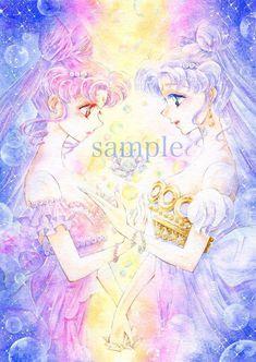 Serenity and lady serenity Sailor Moon Manga, Sailor Moon Fond, Anime Moon, Sailor Moon Drops, Arte Sailor Moon, Sailor Moon Stars, Sailor Saturn, Sailor Moon Tattoos, Cristal Sailor Moon