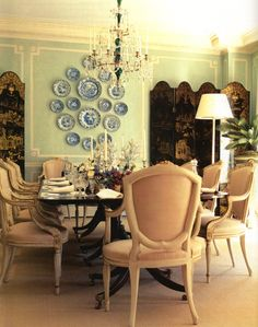 Mark D. Sikes: Chic People, Glamorous Places, Stylish Things   Image via House and Garden