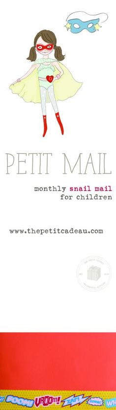 My kids love getting mail....Some fun Holiday gift ideas with August #petitmail - monthly snail mail subscription for children