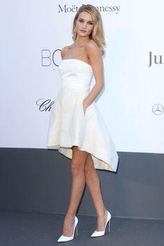 White fabulous dress