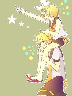 Vocaloid Kagamine Rin and Len