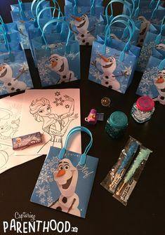 A Frozen Fourth Birthday Party Frozen Birthday Favors, Frozen Birthday Decorations, Frozen 3rd Birthday, Frozen Party Favors, Frozen Themed Birthday Party, Fourth Birthday, Frozen Birthday Party, 6th Birthday Parties, Elsa Birthday