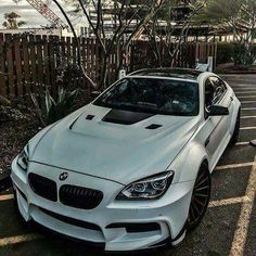 BMW F06 M6 Gran Coupe silver widebody