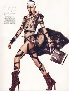 Vogue Paris November 2009: Isabeli Fontana  - Journal - I Want To Be A Roitfeld
