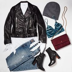 "In case you've ever asked, ""How do I wear a velvet bralette?"" #flatlay #flatlays #flatlayapp www.flat-lay.com"