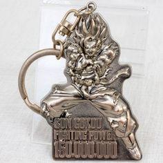 Dragon Ball Z Son Gokou Metal Keychain Universal Studio Japan USJ #USJ