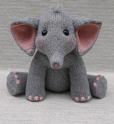 Knit Baby Elephant   Craftsy