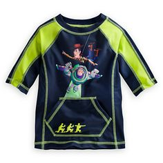Toy Story Rash Guard for Boys