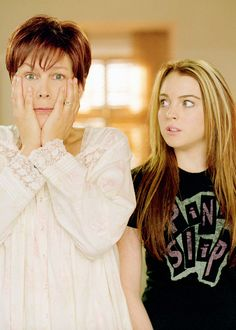 Jamie Lee Curtis and Lindsay Lohan in Freaky Friday (2003)