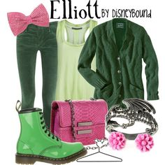 Elliott from Pete's Dragon outfit by DisneyBound