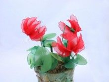 Nylon Flower Cyclamen