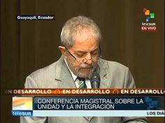 Lula participa en la inauguración de la sede de la Unasur en Ecuador