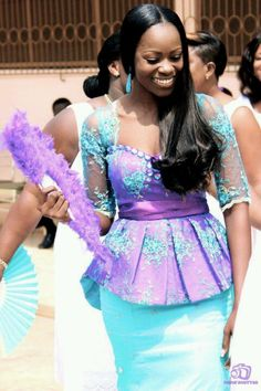 love the style for reception lace maybe? but different colors ~African Prints, African women dresses, African fashion styles, african clothing