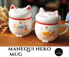 Real Beer Caneca Wholesale Lucky for Cats Animal Ceramic Coffee Tea Cup,cute Maneki Neko Mug,creative Water Cup Gifts Pink/red(China (Mainland)) Maneki Neko, Gato Animal, Clay Mugs, Coffee Milk, Ceramic Coffee Cups, Mugs Set, Tea Cups, Cats, Cute Kittens