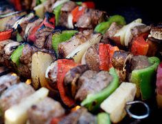 Lamb or beef kabobs, pepper and onions perfectly seasoned and zested with lemon juice make a great dish for entertaining with friends. Serve with orzo pilaf with fresh herbs and greens finished with feta cheese. Ingredients 1/2 cup extra virgin olive oil (EVOO), plus some for drizzling 4 large cloves garlic, grated or pasted A …