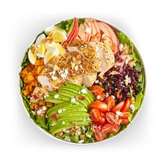 Avocado Salad Center I Avocados From Mexico Avocado Salad Recipes, Easy Salad Recipes, Easy Salads, Healthy Recipes, Avocados From Mexico, Homemade Honey Mustard, Chicken And Butternut Squash, Party Food Platters, Roasted Chicken Breast