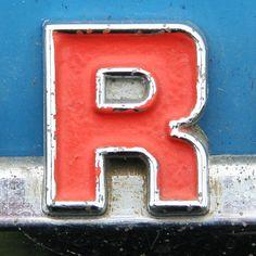 Graphic design Typographic Alphabet Letters R