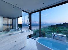Salle De Bains & Vue Panoramique Océan - Home-New York Par Stelle Lomont Rouhani - New York, USA